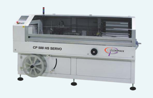 CP 500 HS SERVO Continous Side Sealer + Tunnel